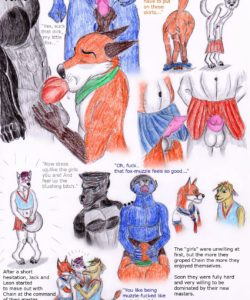 Serving Time 005 and Gay furries comics