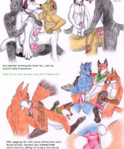 Serving Time 009 and Gay furries comics