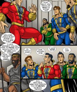 Shazam! gay furry comic