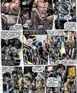Slaves To Lust 007 and Gay furries comics