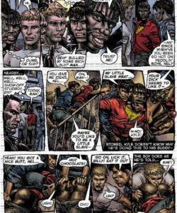 Slaves To Lust 010 and Gay furries comics