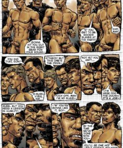 Slaves To Lust 013 and Gay furries comics