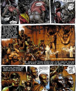Slaves To Lust 016 and Gay furries comics