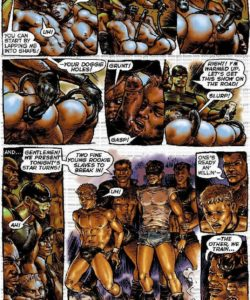 Slaves To Lust 017 and Gay furries comics