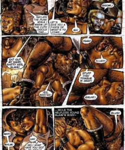 Slaves To Lust 018 and Gay furries comics