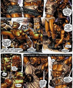 Slaves To Lust 020 and Gay furries comics