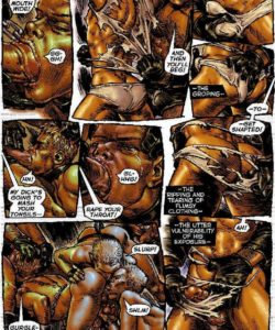 Slaves To Lust 021 and Gay furries comics