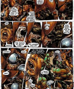 Slaves To Lust 025 and Gay furries comics