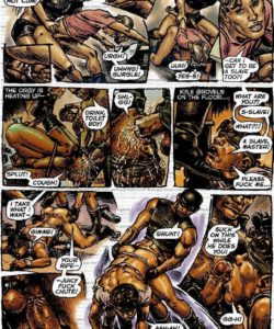 Slaves To Lust 027 and Gay furries comics