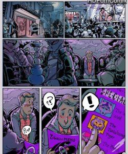 Smoke & Leather gay furry comic