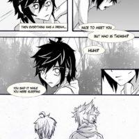 Sora X Hiro gay furry comic