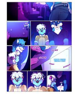 Sore Loser gay furry comic