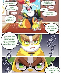 Special Services 1 009 and Gay furries comics