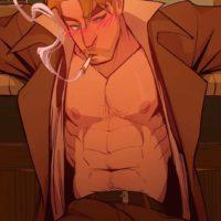 Spellbound - A John Constantine x King Shark Fan Comic gay furry comic