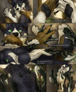 Tainted gay furry comic