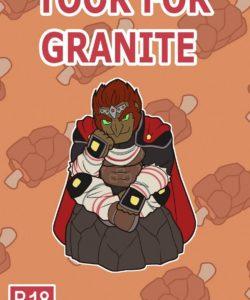 Taken For Granite gay furry comic