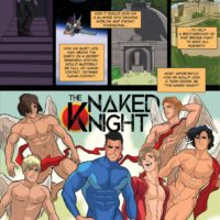 Tales Of The Naked Knight 1 - Club Story gay furry comic