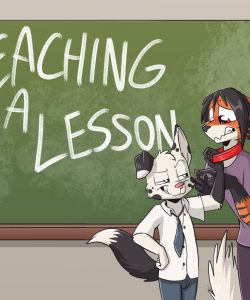 Teaching A Lesson 001 and Gay furries comics
