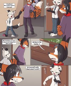 Teaching A Lesson 002 and Gay furries comics