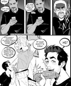 Team Bonding gay furry comic