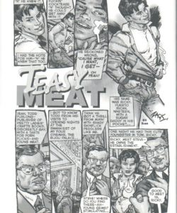 Teasy Meat 001 and Gay furries comics