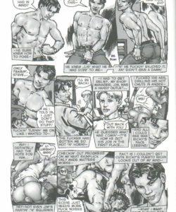 Teasy Meat gay furry comic