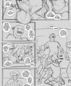 The Bet gay furry comic