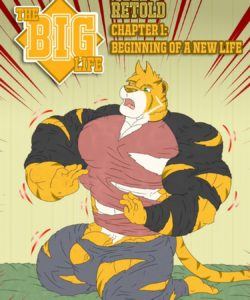 The Big Life 1 – The Beginning Of A New Life (RETOLD) gay furry comic