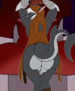 The Dragon's Lair gay furry comic