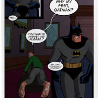 The Foot Soldier 1 - The Last Riddle gay furry comic