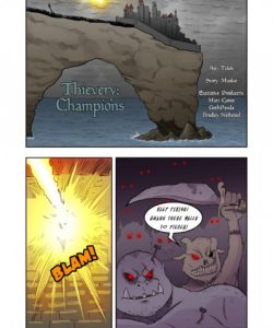 Thievery 1 – Issue 5 Part 1 – Champions gay furry comic