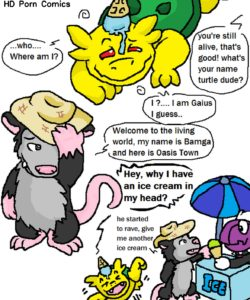 Tropical Cactus 003 and Gay furries comics