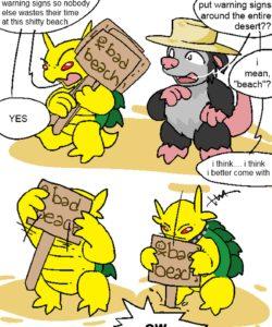 Tropical Cactus 005 and Gay furries comics