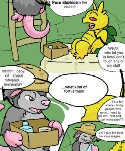 Tropical Cactus 008 and Gay furries comics