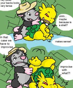 Tropical Cactus 009 and Gay furries comics