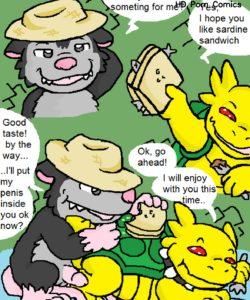 Tropical Cactus 012 and Gay furries comics