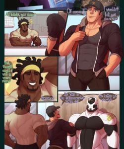 Wet Gear gay furry comic