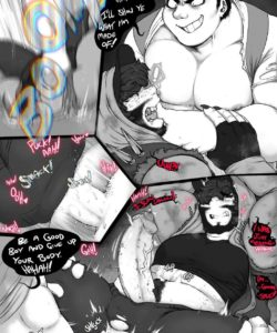 When Your Prey Behaves Like Jekyll And Hyde 004 and Gay furries comics