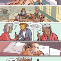 Winter's Coming gay furry comic