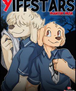 Yiffstars – Phantom Musk gay furry comic