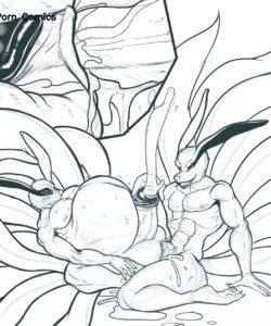 Yin Yang Kyuubi 006 and Gay furries comics